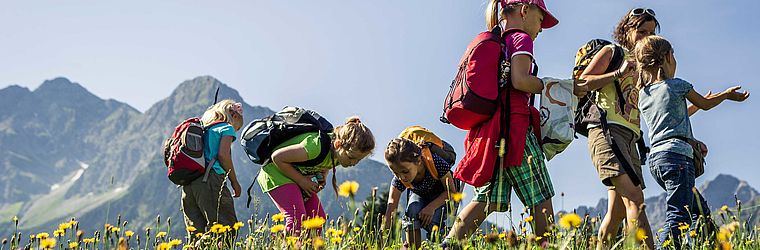 Sommerurlaub mit Kindern | Alphotel Hirschegg