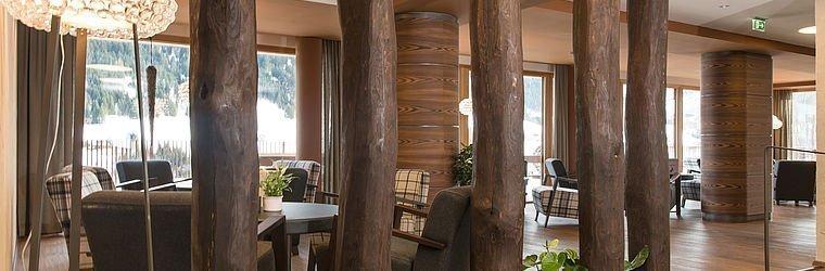 Lounge im Alphotel | Hirschegg