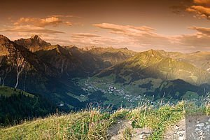 Panoramablick vom Widderstein | Kleinwalsertal