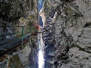 Ausflug zur Breitachklamm im Kleinwalsertal