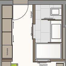 Grundriss Söllerkopf Zimmer