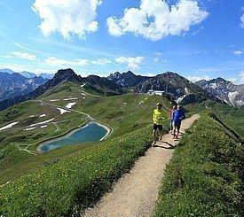 Trailrunning im Kleinwalsertal