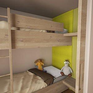 Hochbett für Kinder | Familienhotel in Hirschegg
