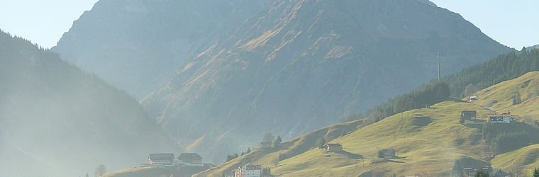 Bergpanorama im Kleinwalsertal | Hirschegg