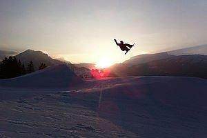 Snowboarden | Urlaub im Kleinwalsertal