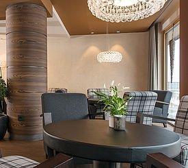 Lounge im Alphotel