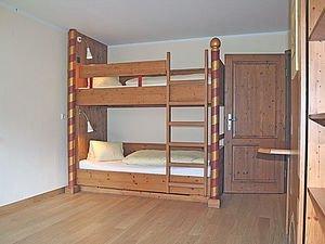 Kinderzimmer mit Etagenbett | Alphotel Hirschegg