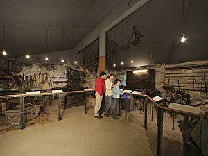 Erzgruben im Museumsdorf