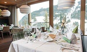 Geschmackvolles Restaurant | Alphotel Hirschegg
