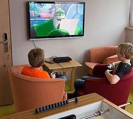 Playstation Spielen im Alphotel