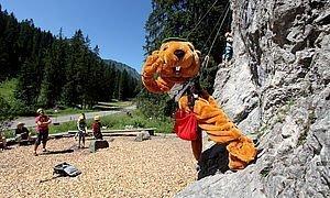 Klettern im Sommer