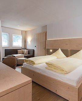 Moderner Wohnkomfort | Alphotel Hirschegg