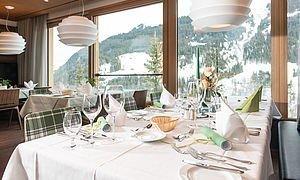 Eingedeckter Tisch im Restaurant