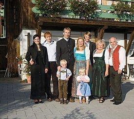Gastgeberfamilie des Alphotels
