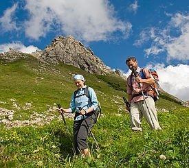 Gäste beim Wandern