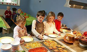 Kindermenüs im Familienhotel Alphotel | Hirschegg