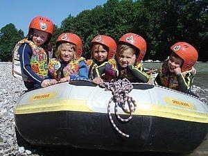 Rafting für Familien | Kleinwalsertal