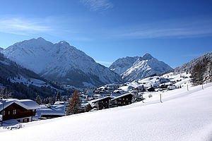 Hirschegg im Winter | Kleinwalsertal