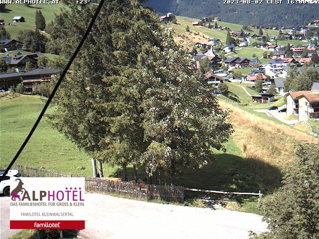 Webcam Kleinwalsertal Hirschegg
